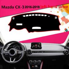 Car Dashboard Dash Mat Dashboard Cover Dash Anti-Sun for Mazda CX-3 2016-2018