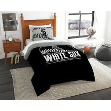 Northwest MLB Chicago White Sox Sham & Full/Queen Comforter Bedding Set