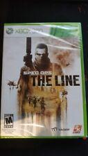 Spec Ops The Line - Xbox 360, nuovo e sigillato, NTSC, Region free
