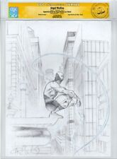 Daredevil by Angel Medina CGC SS Pencil Original Art Commission Sketch 8.5x11