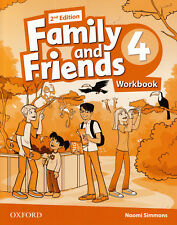 Oxford FAMILY AND FRIENDS Level 4 Workbook 2nd Edition / Naomi Simmons @NEW@