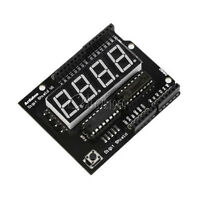 "NEW 0.56"" 8seg-4digit Red LED Display Shield Module For Arduino Compatible"