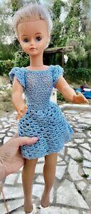 ancienne vintage Poupée cathie de bella doll jambe souple envoi international