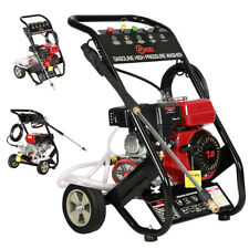 More details for 3950 psi driven high powered petrol pressure jet washer mobile washing machine