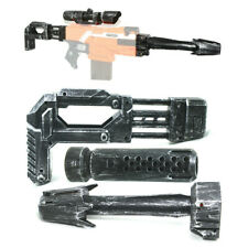 Tactical Scope Sight Attachment Shoulder Stock Combo for Stryfe Modify Toy