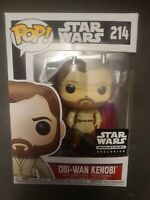 Funko POP! Star Wars OBI-WAN KENOBI #214, Smuggler's Bounty Exclusive, New