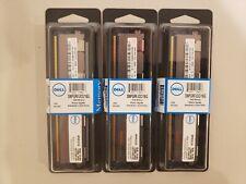 DELL SNPGRFJCC/16G 16GB MODULE 4Rx4 DDR3 PC3L-8500R 1066MHz REG DIMM MEMORY RAM