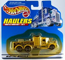 Hot Wheels Haulers Throttle Thrusters Racing Broadcast Truck 1999 New On Card