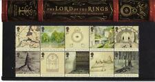 UK Lord of the Rings Commemorative Stamps J R R Tolkien