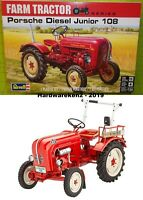 KIT - REVELL PORSCHE DIESEL JUNIOR 108 FARM TRACTOR 1/24 #85-4485