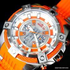 Invicta Star Wars BB-8 Perno Viper Naranja 54mm Edición Limitada Reloj Crono New