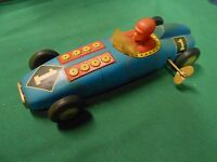 Great Collectable Vintage Tin WIND-UP Race Car..............................SALE