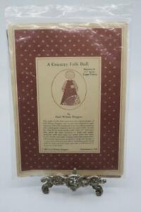 Gail Wilson Duggan TOPSY TURVY Country Folk Art Rag Doll Kit Pattern G 1987