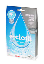 e-cloth Anti Bacterial 2 Sided Stainless Steel Cleaning Cloth