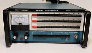 HEATHKIT IG-1272 AUDIO GENERATOR - TESTED