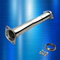 FOR 2007-13 MAZDASPEED3 MPS STAINLESS HI-FLOW DOWNPIPE CAT PIPE EXHAUST SYSTEM