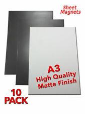 10 PACK | A3 Sheet Magnets | MATTE | Magnetic Photo Paper | DIY Shelve Labeling