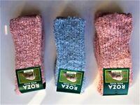 3 Pairs Women Ladies Sleeping Thermal Socks Winter Cosy Bed Socks Size 4-7 HGHHW