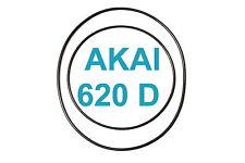 SET AKAI GX 620 D RIEMEN TONBANDMASCHINE EXTRA STRONG NEU FABRICKFRISCH 630D