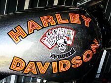 Harley Davidson And The Marlboro Man FXR Tank/Fender Decals Movie Bike Replicas