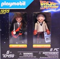 PLAYMOBIL 70459 Back to the Future Marty Mcfly und Dr. Emmett Brown NEU