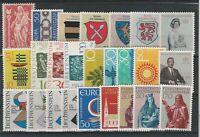 FRANCOBOLLI - 1965/66 LIECHTENSTEIN MNH E/1162