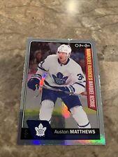 Auston Matthews 2016-17 OPC Rainbow Foil Marquee Rookies RC #694 Leafs 🔥