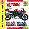 Haynes Yamaha R1 YZF-R1 1998 - 2003 Workshop Manual 3754 NEW
