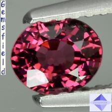 IF !!! 0.64ct !!! RHODOLITE de NAMIBIE - lumineux rouge rosé - poli AAA++