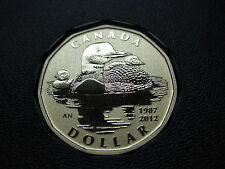 2012 Canada Specimen 25th Anniversary of the Loonie ($1) *Rare*