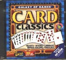 Galaxy of Games: Card Classics Deluxe (PC-CD, 1998) Win 95/98 - NEW CD in SLEEVE