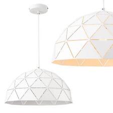 [lux.pro]® Lámpara de techo Colgante pantalla decorativa Blanco 25x40cm moderna