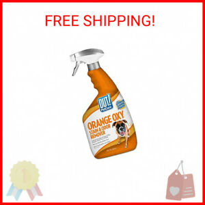 OUT! Orange Oxy Stain and Odor Remover | Pet Stain and Odor Remover | 32 Ounces