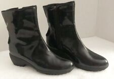 Sporto Boots Women's Sz 6 Waterproof Thermolite Rubber Duck Black New