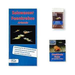 Feenkrebse Artemia-franciscana-Zucht Set (klein) - mit Futter und Anleitung