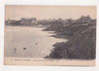 Saint Lunaire Vue Generale De La Plage LL 2 France Vintage Postcard US078