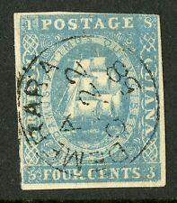 British Guiana  1853-59  Scott #  10  USED