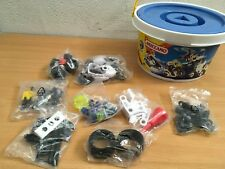 MECCANO CITY 0110 POLICE SET UNUSED BUCKET INCOMPLETE SEALED