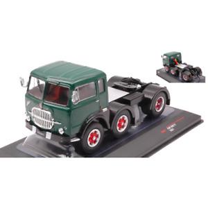 FIAT 690 T1 1961 GREEN-BLACK 1:43 Ixo Model Camion Die Cast Modellino