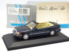 Minichamps 1/43 - Mercedes W124 300 ESTE 24 Cabriolet Azul