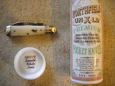 Great Eastern Cutlery Northfield # 06 Pemberton Knife perfect Smooth White Bone