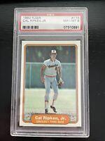 Cal Ripken Fleer 1982 PSA 8 Rookie