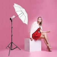 White Umbrella Reflector Photography Stand Lighting Kit for Photo Video Studio