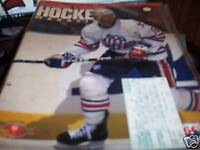 Rochester Americans Hockey Program with ticket