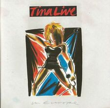Tina Turner - Live In Europe   Live 2-cd   NEW
