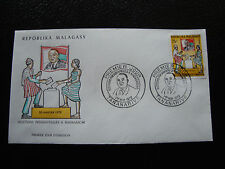 MADAGASCAR - enveloppe 1/5/72 - election president tsiranana - yt n°500-(cy4)(R