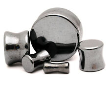 Hematite Stone Plugs set gauges Pick Size
