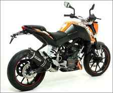 SILENCIEUX ARROW THUNDER ALU DARK KTM DUKE 125 200 2011/16 - 51010MI+51510AKN