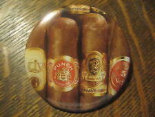Cigar Bands Tobacco Smoking Advertisement Promo Button Pin FREE USA Ship $20