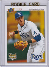 Evan Longoria 2008 Upper Deck Timeline TAMPA BAY RAYS ROOKIE CARD Baseball RC